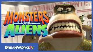 The BEST Monster Costumes | MONSTERS VS. ALIENS