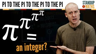 Why pi^pi^pi^pi could be an integer (for all we know!).