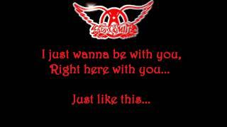 Aerosmith - I Don't Want To Miss A Thing - Lyrics