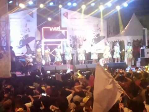 Cherrybelle Perform At Lanching Honda Vario Di PTC PLG Part 1 | (22/06/2014)