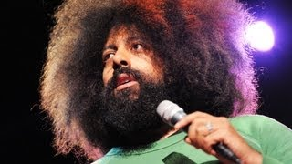 Reggie Watts disorients you in the most entertaining way(http://www.ted.com Reggie Watts' beats defy boxes. Unplug your logic board and watch as he blends poetry and crosses musical genres in this larger-than-life ..., 2012-05-25T20:17:34.000Z)