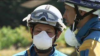Beben am Vulkan Ontake: Einsatzkräfte unterbrechen Bergungsaktion