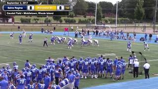 Salve Regina University Athletics Highlights - Football (9/2/2017)