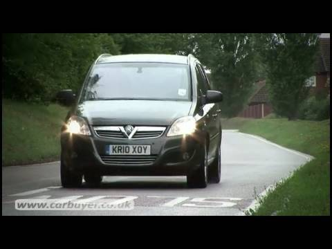Vauxhall Zafira MPV review - CarBuyer