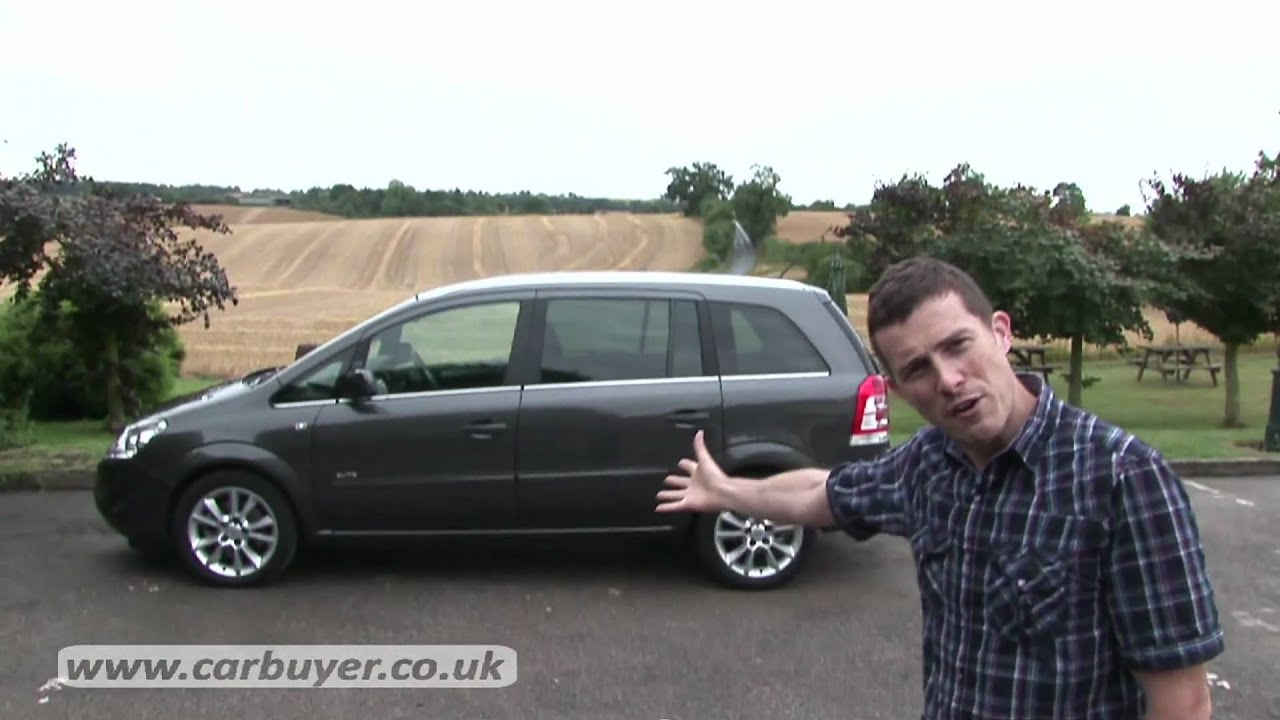 vauxhall zafira mpv review carbuyer [ 1280 x 720 Pixel ]