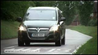 Vauxhall Zafira MPV review - CarBuyer