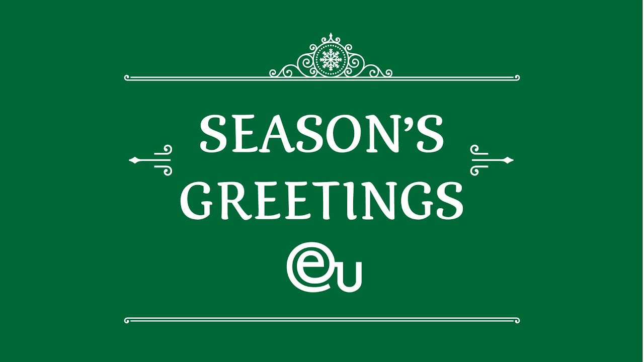 Seasons Greetings From Eu Business School Youtube