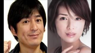 大吉先生がグリコのチーザのコマーシャルで、女優の吉瀬みちこさんと共...