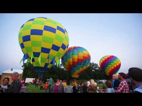 Tippy Creek Winery Balloon Glow 2017