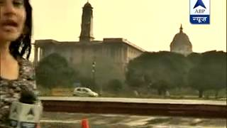 Temperature drops in Delhi as rain hits the national capital
