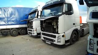 Диагностика грузовых автомобилей при покупке ; Вольво Фш,Фм и Рено Премиум