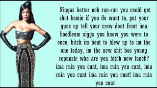 azealia banks 212 lyrics