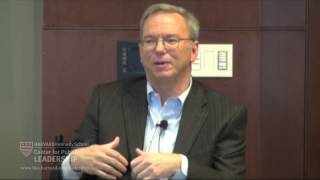 """The New Digital Age"" with Eric Schmidt"