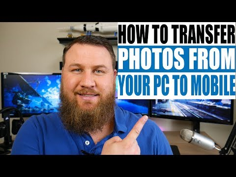 How To Transfer Photos From Your Computer To Your Phone