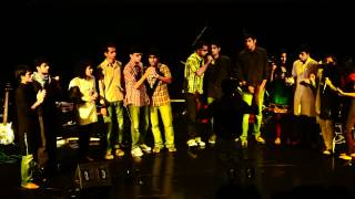 NTU TARANG 2012 - Indian Band - acapella