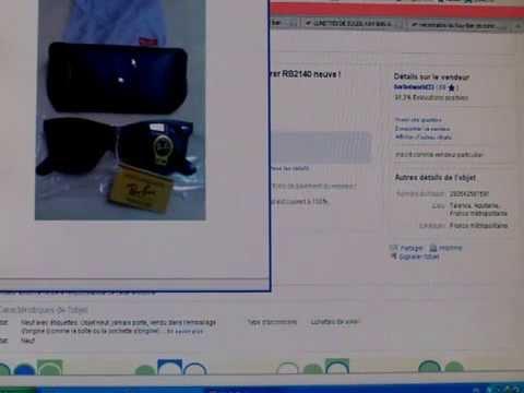 Comment reconnaitre les Ray-Ban de contrefaçon vendues sur le net  (par  SMALLEXIS) ef652b3a208c