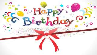 A Catchy Happy Birthday song (instrumental)
