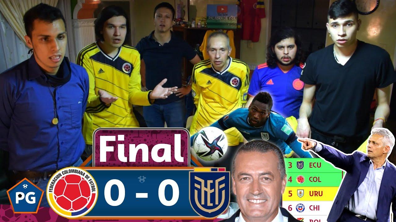 Download Colombia 0 Ecuador 0 🔥 Eliminatorias Qatar 2022 Conmebol 😱 Reacciones Amigos 🔥 El Club de la Ironía