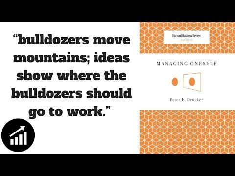 #45 - Managing Oneself - Book Review