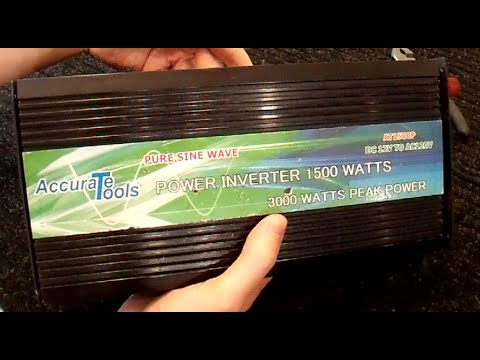 Accurate Tools Pure Sine Inverter Review and Repair - Part 1/4