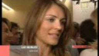 Elizabeth Hurley - With Valentino modist Thumbnail