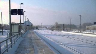 W232.03 der ITL Ludmilla als Leerzug durchfahrt über Tantow [HD]