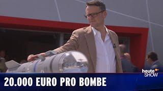 Bombengeschäfte! Ralf Kabelka gratuliert der deutschen Rüstungsindustrie