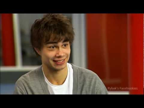 "Alexander Rybak interview in ""God Kveld Norge"" TV2  2009"