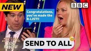 Emma Bunton MORTIFIED in #awks Send To All! 😂 - Michael McIntyre's Big Show - BBC