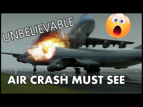 TOP 5 AIR CRASH MUST SEE !!!!