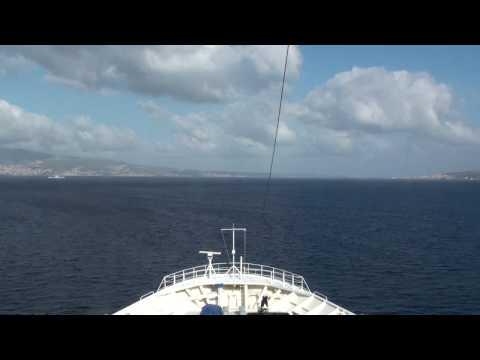 Strait Of Messina Timelapse