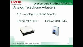 Analog phone on VoIP network, or how can you extend your telecommunication opportunities Mp3