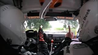 Van Beek Autosport Onboard KP 4 Autosoft Vechtdal Rally
