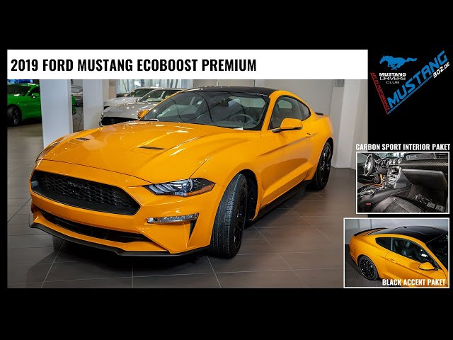 2019 US Ford MUSTANG EcoBoost Premium