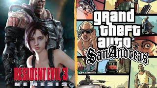 Resident Evil 3 - Speedrun + Grand Theft Auto: San Andreas - En Español