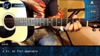 cómo tocar señora señora en guitarra acústica hd tutorial acordes christianvib
