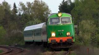 Saying goodbye to passenger trains at Roztocze in eastern Poland
