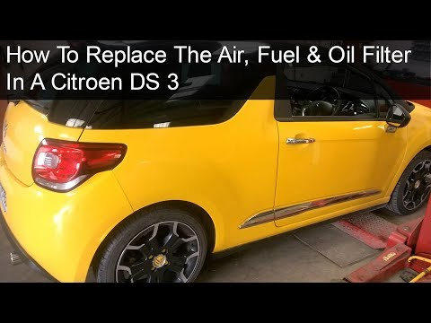 Citroen DS3 Major Service - DIY - How to