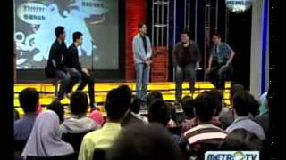 Stand Up Comedy Battle Of Comic Metro TV 12 Maret 2013   part 1
