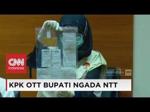 (FULL) Konpers KPK OTT Bupati Ngada NTT, Marianus Sae