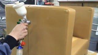 видео Кожа для мебели / Статьи / Жидкая кожа Liquid Leather