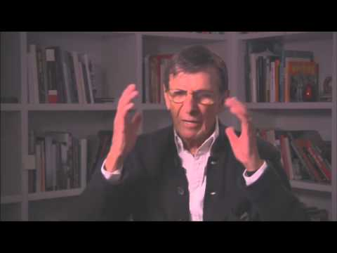 Leonard Nimoy interview for CBS Action