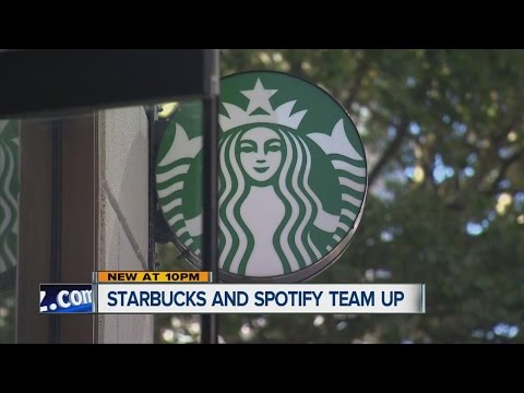Starbucks and Spotify team up