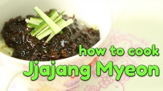 How to Cook Jjajang Myeon!