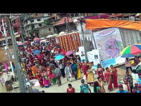 PASHUPATI Teej 2072 CCTV installed by PASSION & NEW DIGI