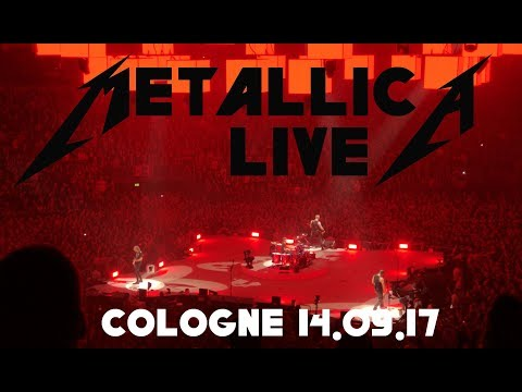 Metallica Live (4K) - World Wired Tour 2017 - Full Show - Lanxess Arena Cologne