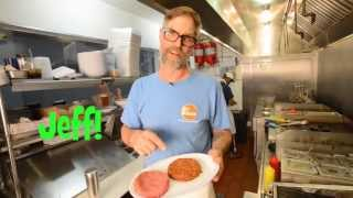Brooklyn's 67 Burger: Pastrami Reuben Burger Recipe! Blue Cheese & Bacon Burger Recipe!