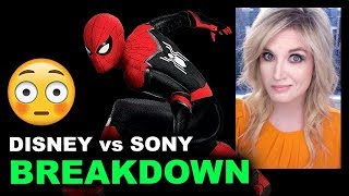 Spider-Man OUT of the MCU? Sony vs Disney Deal BREAKDOWN