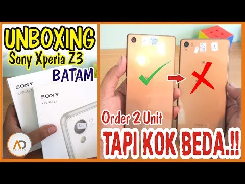 UNBOXING Xperia Z3 beli Di BATAM - Order 2 Unit TAPI KOK BEDA.!!! - Sony Xperia Z3 Docomo