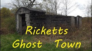 Exploring the Ghost Town of Ricketts - URBEX - Abandoned